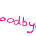 goodbye-inscription